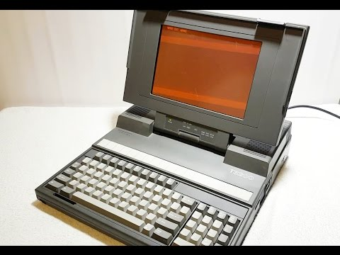 Toshiba T3200 Vintage Luggable Repair & Restoration Part 1 : BOOM !!