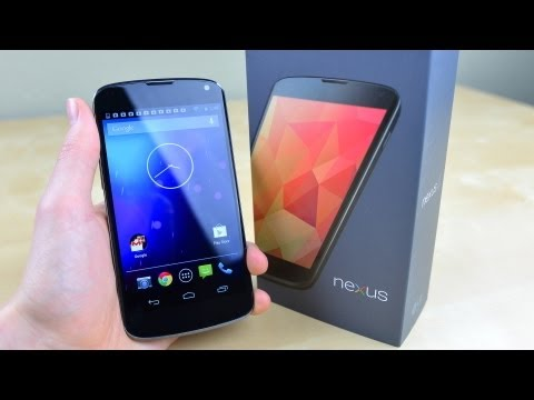 Google Nexus 4 Unboxing!