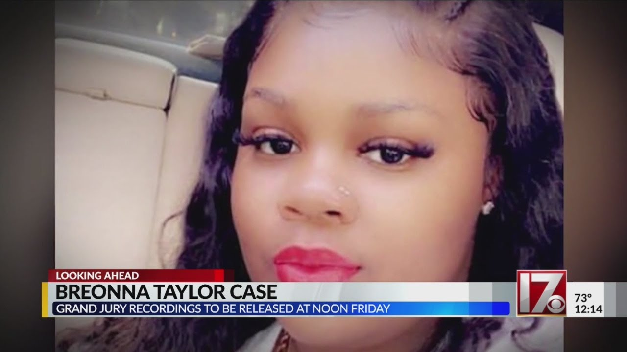 Breonna Taylor Case Grand Jury Audio Recordings [Listen HERE]
