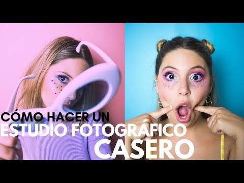 CÓMO CREAR UN ESTUDIO DE FOTOS ECONÓMICO EN CASA