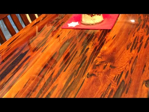 Epoxy Dining Table using Reclaimed Pecky Cypress Wood (FULL Tutorial)