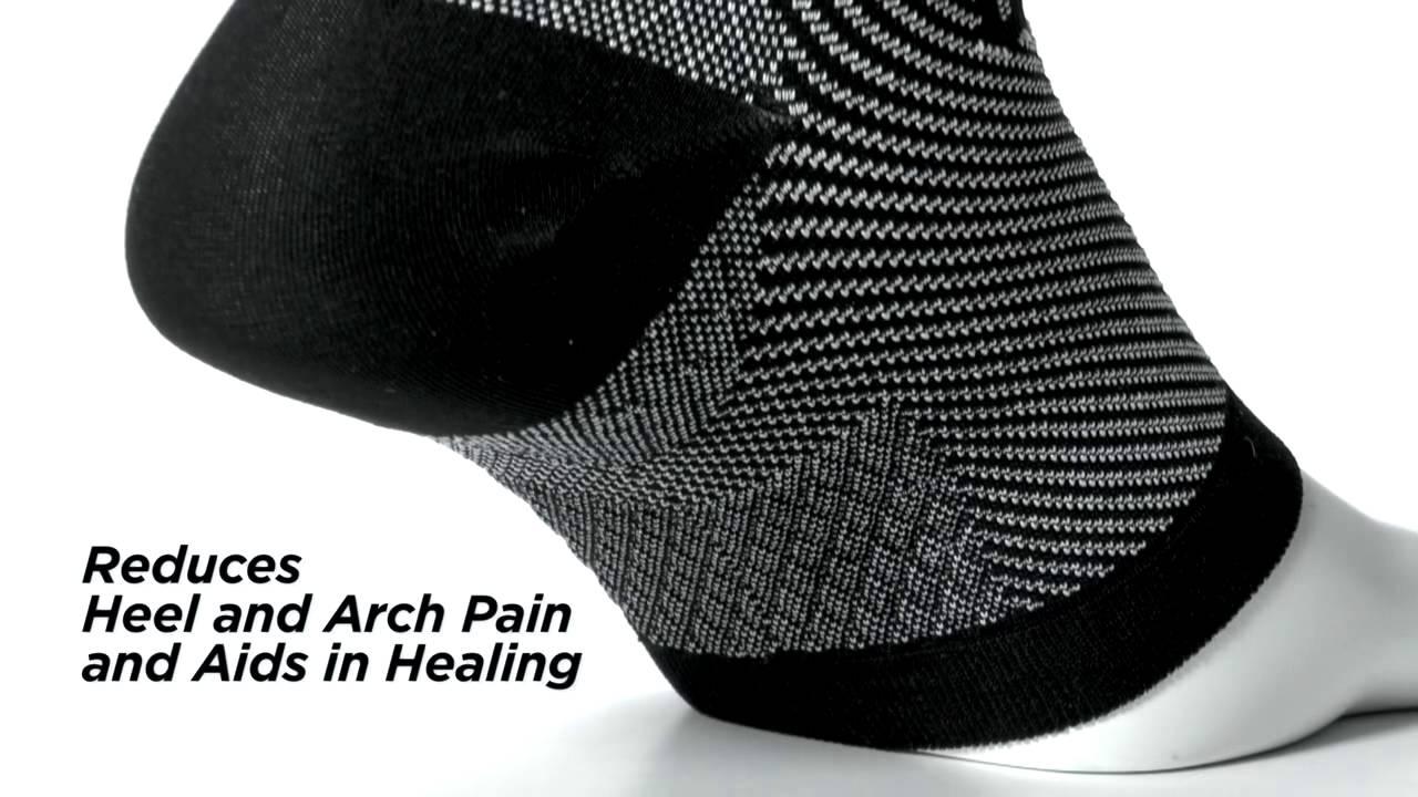983c06d407 Feetures! Plantar Fasciitis Sleeve Sock - YouTube