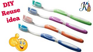 Best out of waste tooth brush craft ideas | # DIY art and crafts | Best use of waste Toothbrush