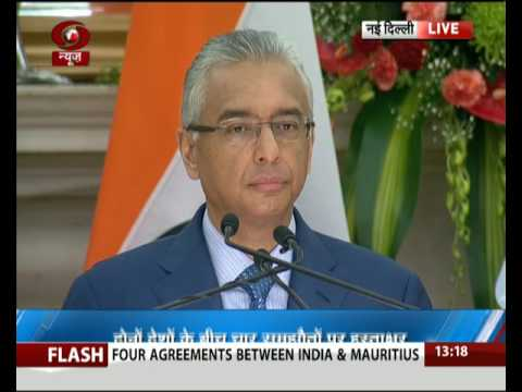 India-Mauritius sign 4 key agreements to boost bilateral ties