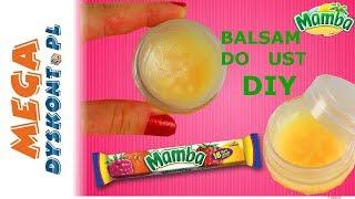 Mamba • Balsam do ust DIY • kreatywne zabawy