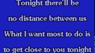 TONIGHT I CELEBRATE MY LOVE FOR YOU - karaoke