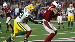 Tip Drill TD for Michael Floyd! | Packers vs. Cardinals | NFL