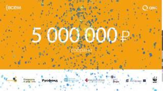 Благотворительная программа ВСЕМ собрала 5 МЛН!