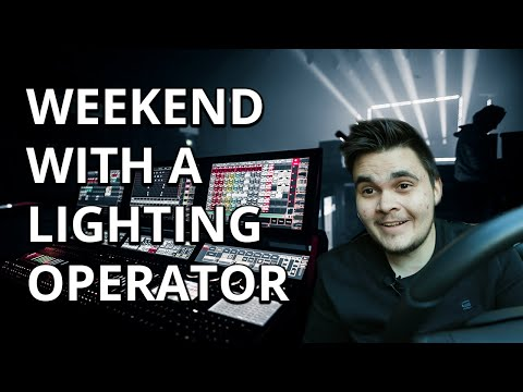 WEEKEND WITH A LIGHTING OPERATOR - Secret Giglog 011
