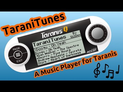 TaraniTunes: A Music Player for Taranis