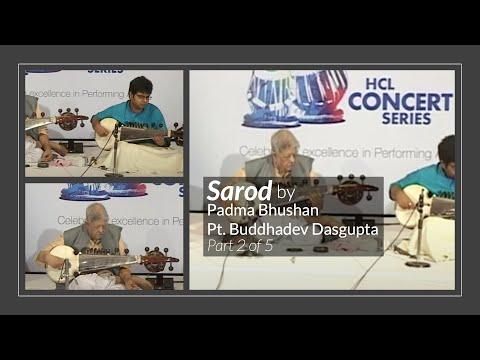 Sarod by Padma Bhushan Pt. Buddhadev Dasgupta (1/5)