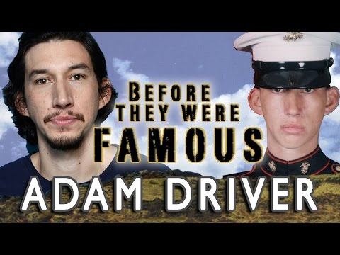 ADAM DRIVER - Before They Were Famous