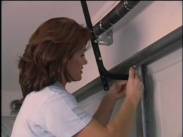 Installing A Garage Door Opener Diy 5147 Youtube