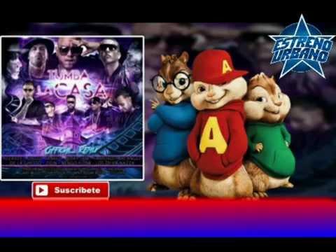 Alvin Y Las Ardillas - Tumba La Casa [Remix]