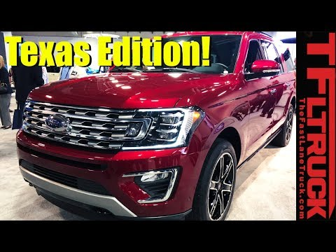 2019 Ford Expedition Stealth and Texas Edition First Look: Coolest Expeditions Yet?
