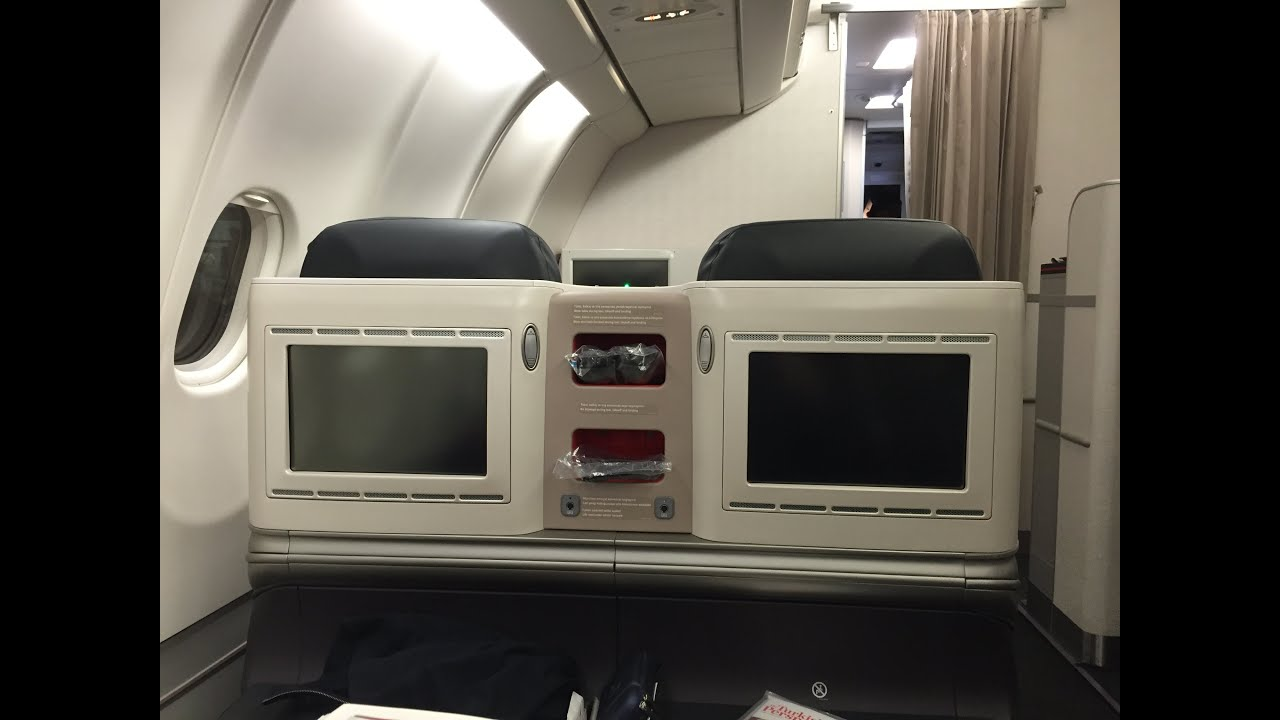 turkish airlines business class airbus a330 300 washington. Black Bedroom Furniture Sets. Home Design Ideas