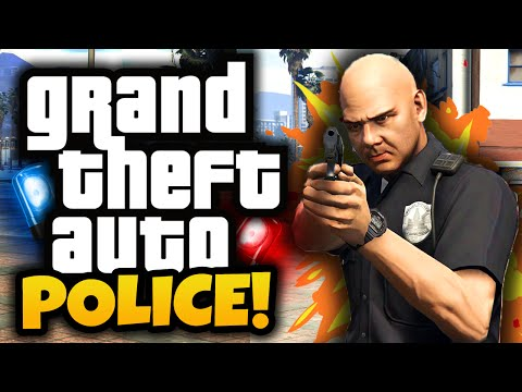 GTA 5: Police Mod! - (GTA 5 Mods Funny Moments)