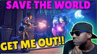 🌟FORTNITE SAVE THE WORLD🌟GETTING OUT OF STONEWOOD