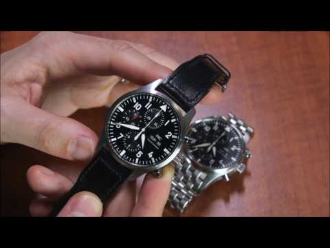 IWC Pilot's Watch Chronograph 3777 Review | ABlogtoWatch