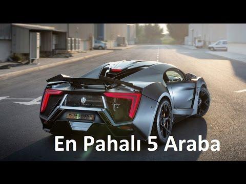 Dünyanın En Pahalı 5 Spor Arabası Youtube