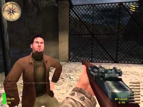 Medal of Honor Allied Assault Gameplay Mission 1 - Arzew
