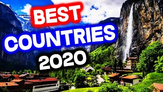 Top 10 BEST COUNTRIES to Live in the World for 2020