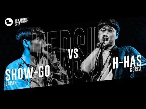 Show-go (JPN) vs H-has (KR)|Asia Beatbox Championship 2017 SMALL FINAL Solo Beatbox Battle