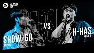 Show-go (JPN) vs H-has (KR)|Asia Beatbox Championship 2017 SMALL FINAL Solo Beatbox Battle