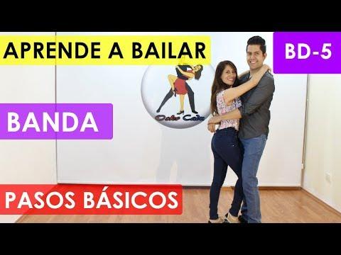 COMO BAILAR BANDA - PASOS BÁSICOS