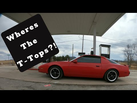 1986 Pontiac Firebird Review - Is it too much 80's style?