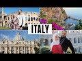 ITALY TRAVEL VLOG: Rome, Amalfi Coast, Positano & Pompeii