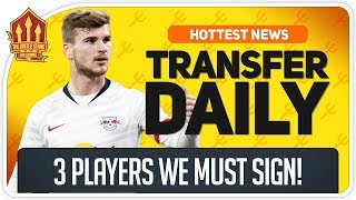 3 Players Man Utd Must Sign in January! Man Utd Transfer News