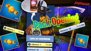 SPECIAL OPENING LAMA OF CAUCHEMAR - SAUVER THE WORLD - FORTNITE -