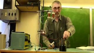 Электрический ток в растворе электролита