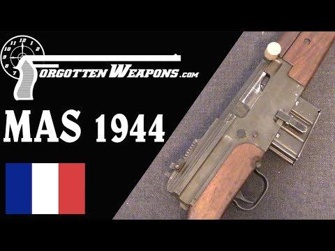 MAS 44: The French Adopt a Semiauto Rifle