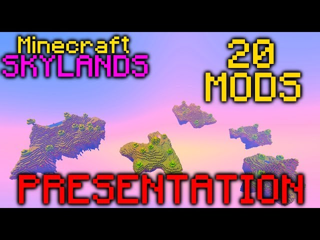 Minecraft Skylands | Présentation