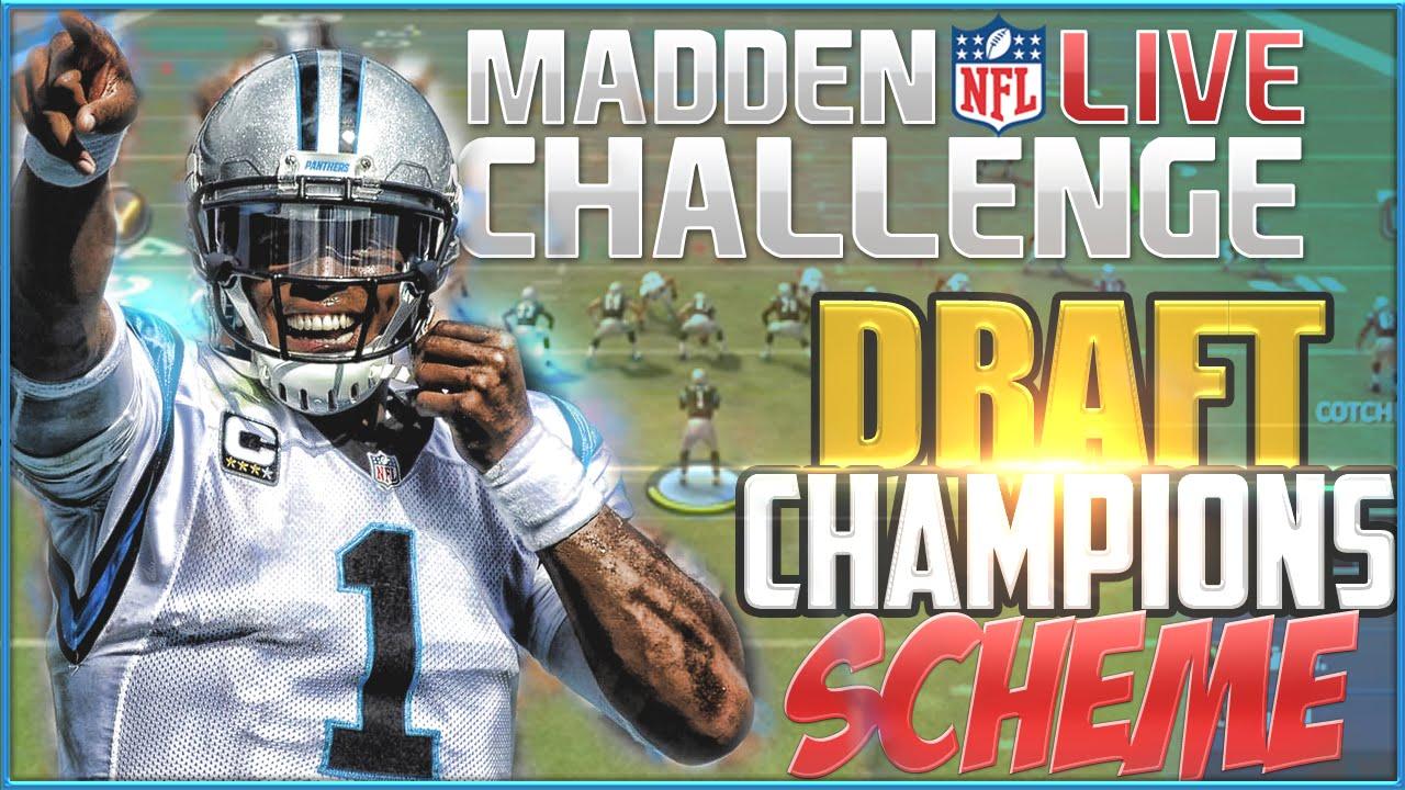 Madden 16 Challenge Offensive Scheme: Panthers Playbook