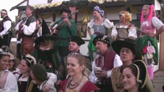 Repeat youtube video A Health To The Company ~ Final Song of the Florida Renaissance Festival 2009