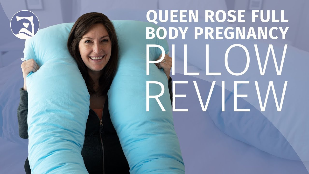 queen rose pregnancy pillow review full body support