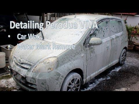 Detailing Perodua Viva with WAX