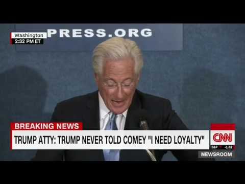 Trump lawyer responds to Comey full remarks