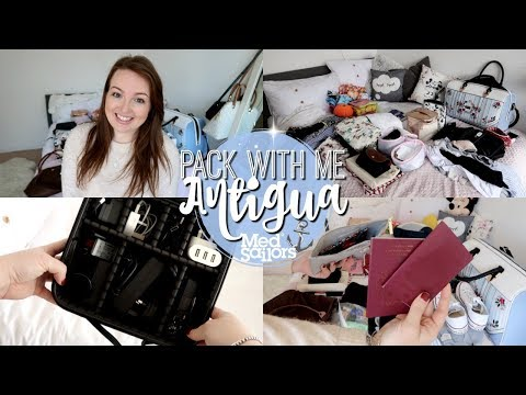PACK WITH ME: ANTIGUA MEDSAILORS 2018 EDITION! ⚓️ | Brogan Tate
