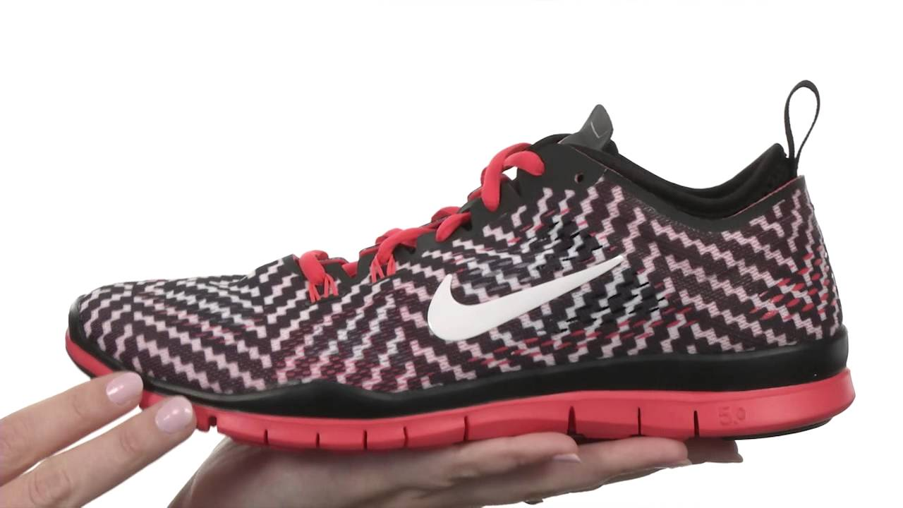cheaper 65b4e ea6fc Nike Free 5.0 TR Fit 4 Print SKU  8255349 - YouTube