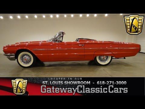 1964 Ford Thunderbird Convertible - Gateway Classic Cars St. Louis - #6334