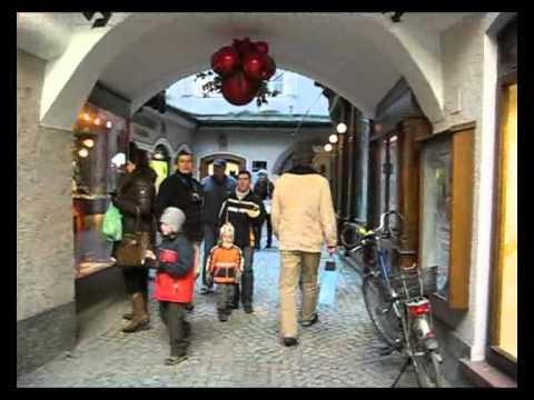 Зальцбург: города Австрии.  ч.1.