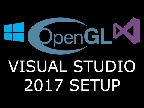 Modern OpenGL 3.0+ Visual Studio 2017 [SETUP] GLFW And GLEW On Windows