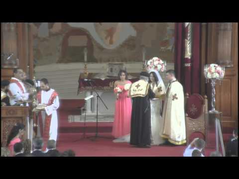 The rite of Holy Matrimony - David and Mira - July 12, 2015