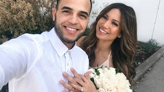 WE GOT MARRIED!! Pregnancy Vlog to our baby | Weeks 24-30