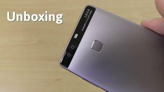 Huawei P9 - Unboxing! (4K)