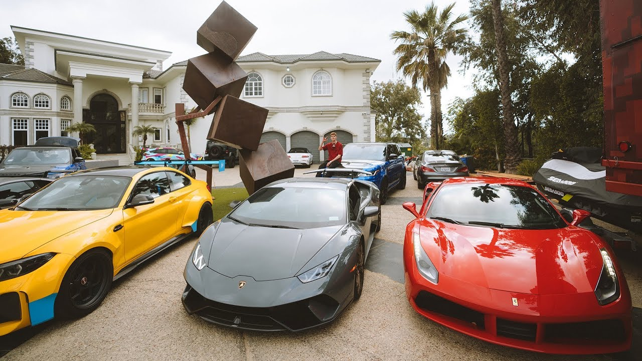 Jake Paul Car Collection
